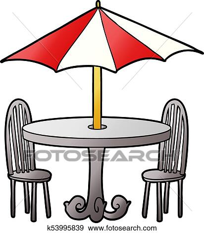 clip art of cartoon cafe table k53995839 search clipart rh fotosearch com cape clipart cape clipart