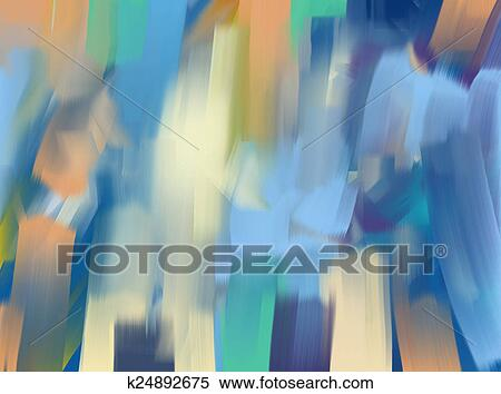 stock illustration of digital painting abstract background k24892675