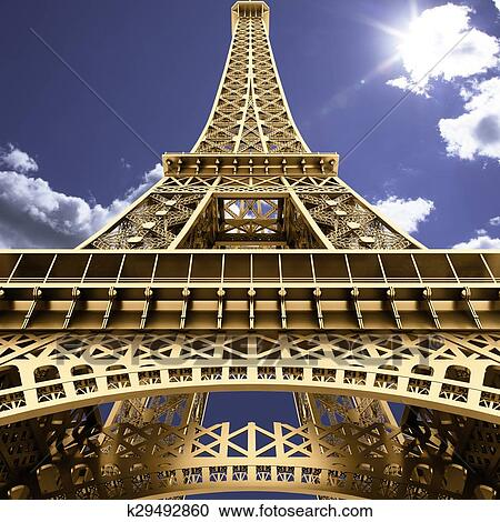 The Eiffel Tower Clipart K29492860 Fotosearch
