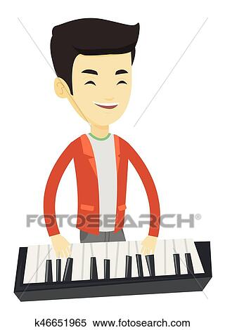 49 Boy Playing Piano. Pianist Illustrations, Royalty-Free Vector Graphics & Clip  Art - iStock