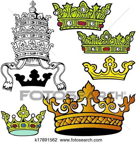 clipart of royal crown k17891562 search clip art illustration rh fotosearch com clipart royal wedding royal clipart border
