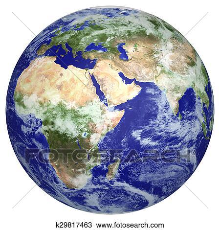 الرسم - الكرة الأرضية الأرض