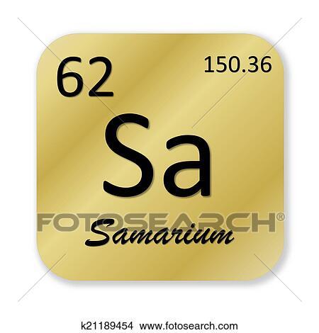 Drawings Of Samarium Element K21189454 Search Clip Art