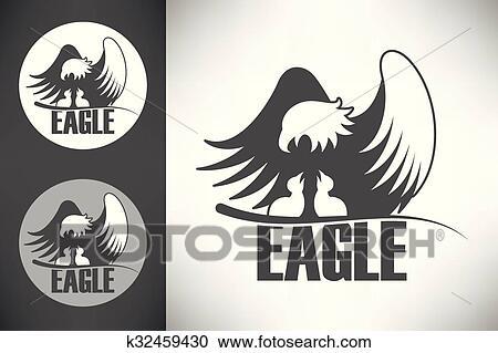 Chauve K32459430 Nid Clipart Recherchez Aigle Les Dans Logo 54PwnTfqw