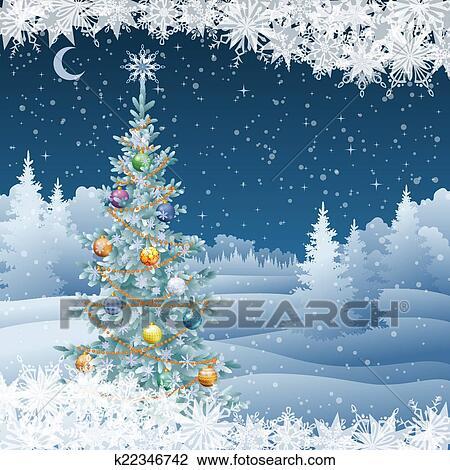 weihnachtsbaum in winterlandschaft neujahrsblog 2020. Black Bedroom Furniture Sets. Home Design Ideas