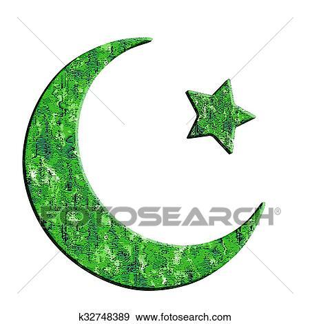 Stock Illustration Of Islam Symbol K32748389 Search Vector Clipart