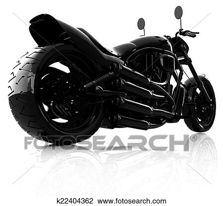 Clip Art Of Abstract Racing Motorcycle Concept K22404362 Search