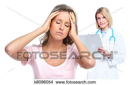 Stock Photo Of Doctor Psychiatrist And Patient K8096054 Search