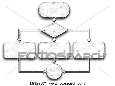 Clipart diagrama flujo programacin proceso k8122671 buscar vaco diagrama flujo diagrama aislado blanco ccuart Images