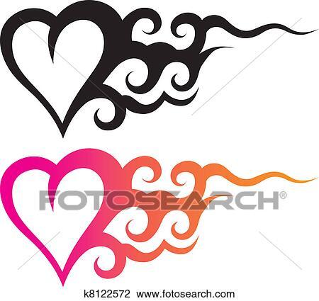Ornamentos Plantillas Anclas Corazón Dibujos Wwwimagenesmicom