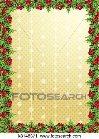 Christmas borders Clipart | k8148371