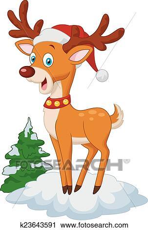 Klipart Słodki Boże Narodzenie Jeleń Rysunek K23643591 Szukaj