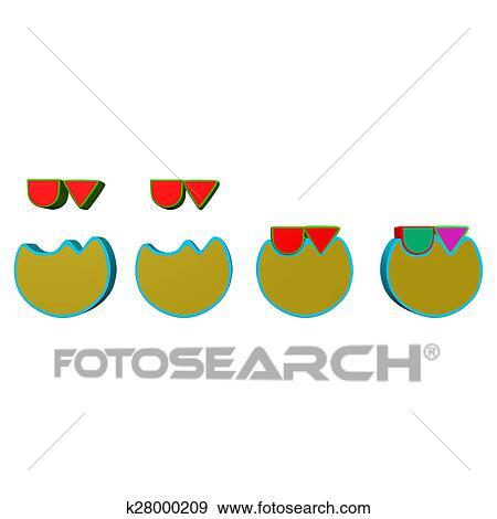 酵素 錠 キー イラスト K28000209 Fotosearch