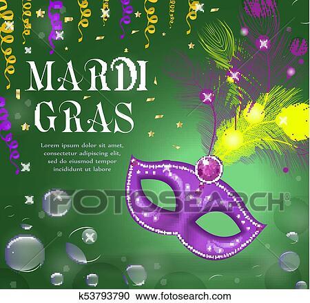 Mardi Gras Template from fscomps.fotosearch.com