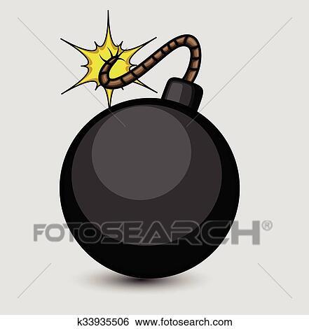 Clipart Bombe clip art of vector bomb k33935506 - search clipart, illustration