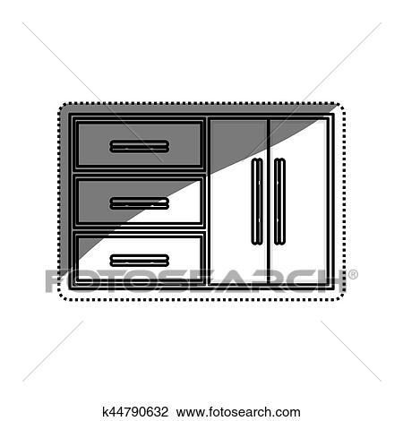 Disegno cucina cuisine carrello da cucina della for Programma per comporre cucine