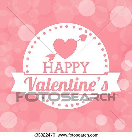 Feliz Dia Dos Namorados Desenho Clipart K33322470 Fotosearch