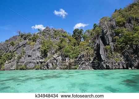 Landscape Of El Nido Palawan Island Philippines Picture