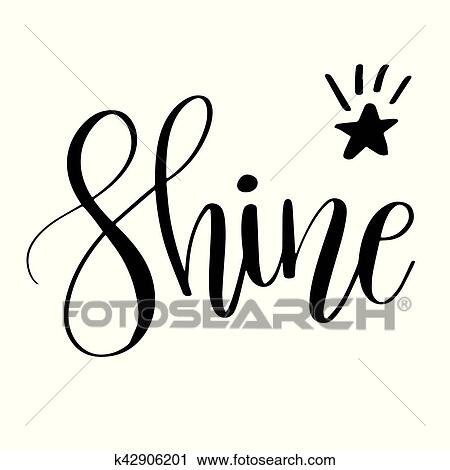 clipart of shine inspirational quote phrase k42906201 search clip rh fotosearch com inspirational clip art images inspirational clip art free images
