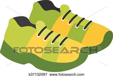 Clip Art botas k37132097 fútbol, vector, illustration. k37132097 botas Buscar 6fcd55