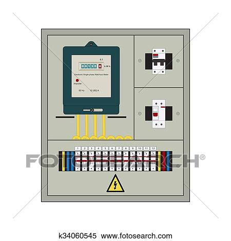 Clipart of Electrical panel, box k34060545 - Search Clip Art ... on electrical boxes, residual-current device, electrical room, electrical control panels, electrical conduit, fuse box, electrical meter box, electrical wiring, electrical installation box, electrical equipment, electricity distribution, ground and neutral, electrical box extender, power cable, house electrical box, wiring diagram, three-phase electric power, electrical design box, large electrical box, electrical gang box, electrical service box, ring circuit, electrical control box, electrical utility box, electrical switch, electrical outlet box, electrical box dimensions, electrical transformer box, breaker box, earth leakage circuit breaker, earthing system, national electrical code, electricity meter, circuit breaker, consumer unit, junction box,