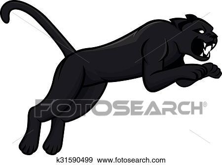 Pantera Ilustracao Desenho Clipart K31590499 Fotosearch