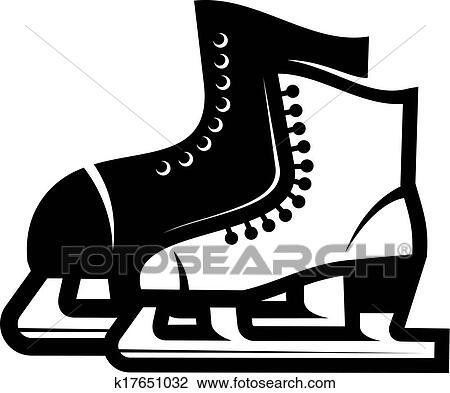 a0e6914b590 Γραπτώς, εικόνα, από, ένα, ζευγάρι, από, παγοπέδιλα, ένα, μεγαλύτερος, εις,  πίσω, μέσα, μαύρο και, ένα, εκλεκτικός, άσπρο, εις, για, ένα, κυρία, ...
