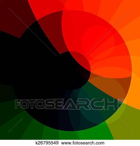 Colorito Estratto Fondo Archivio Illustrazioni K26795549
