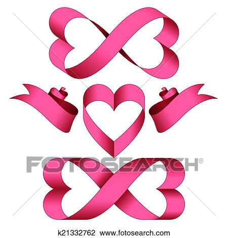 Clipart Of Endless Love K21332762 Search Clip Art Illustration