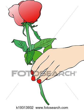 A Rose Rouge Vous Dessin