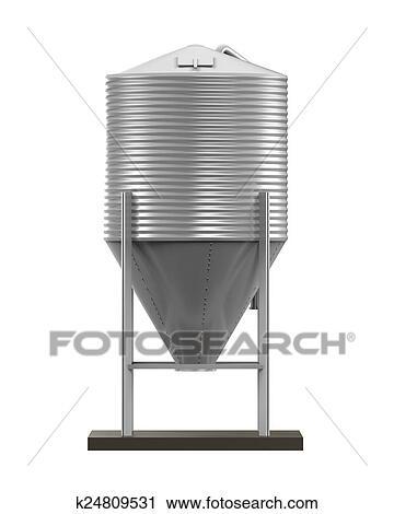 Clipart - bulto, comida, silo k24809531 - Buscar Clip Art ...