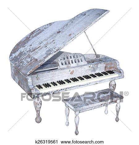 מודרניסטית קליפ ארט - פסנתר כנף k26319561 - חיפוש ציורי קיר, ציורים ותמונות UJ-33