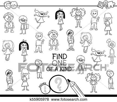 Clip Art Art Spiel Mit Kinder Ausmalbilder K55905978 Suche