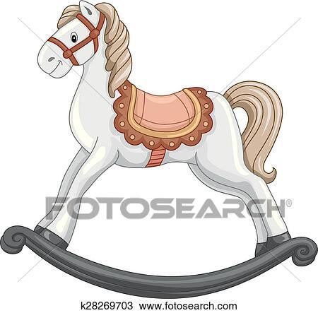 Clipart cheval bascule k28269703 recherchez des clip arts des illustrations des dessins et - Clipart cheval ...