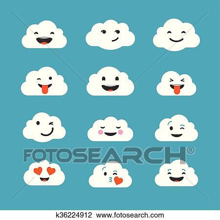 Cute emoji drawings