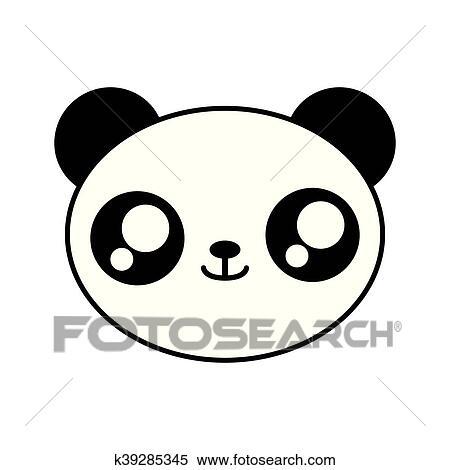 Kawaii Dessin Panda