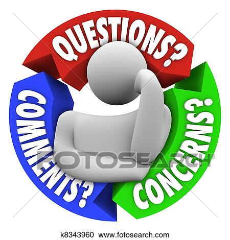 stock illustrations of questions comments concerns customer support rh fotosearch com customer service clipart images customer service clip art images free