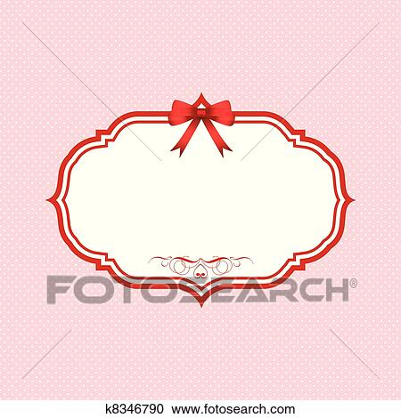 Clipart Of Valentines Day Polka Dot Background K8346790 Search