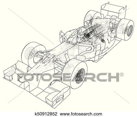 Race car. Wire-frame. EPS10 format. Vector created of 3d. Clipart Stock Car Wiring Diagram on stock car seats, stock car transmission, stock car circuit, stock car rear suspension, stock car chassis, stock car body, stock car parts diagram, stock car final drive, stock car ignition, stock car wheels, stock car oil cooler, stock car frame, stock car exhaust, stock car engine,