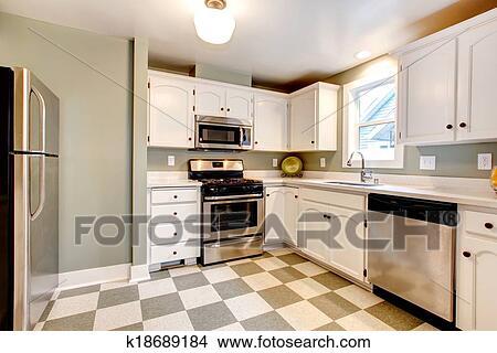 Archivio Fotografico - grande, colorare, soluzione, per, cucina ...