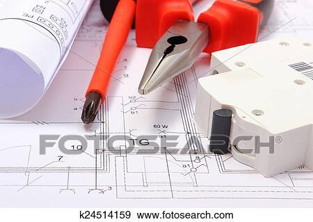 Schemi Elettrici Casa : Rotolato elettrico schemi elettrico fusibile e lavoro