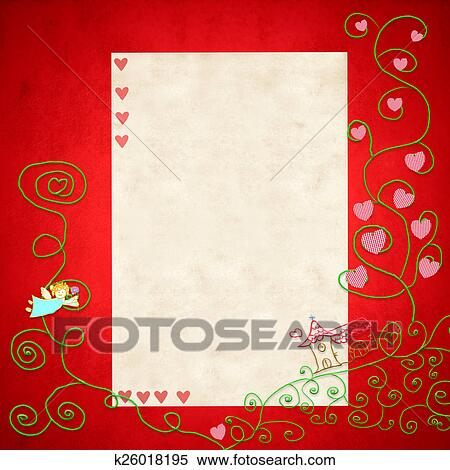 Stock Illustration Of First Holy Communion Invitation Card K26018195