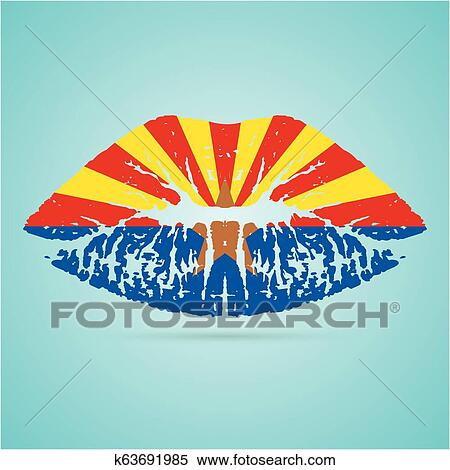 Free Arizona Flag Vector, Download Free Clip Art, Free Clip Art on Clipart  Library