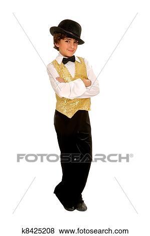 Fotos - niño, jazz, bailarín, en, disfraz k8425208 - Buscar fotos e ...