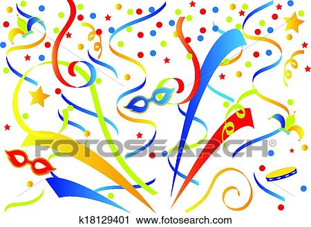 clipart of carnival background k18129401 search clip art