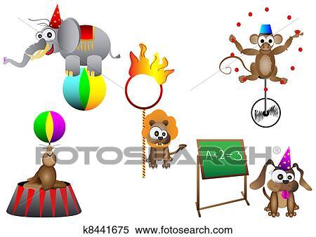 Animals Circus Stock Illustrations – 3,248 Animals Circus Stock  Illustrations, Vectors & Clipart - Dreamstime