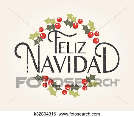 Happy New Year In Spanish Text For Greeting Card. Feliz Ano Nuevo.. Royalty  Free Cliparts, Vectors, And Stock Illustration. Image 66001351.