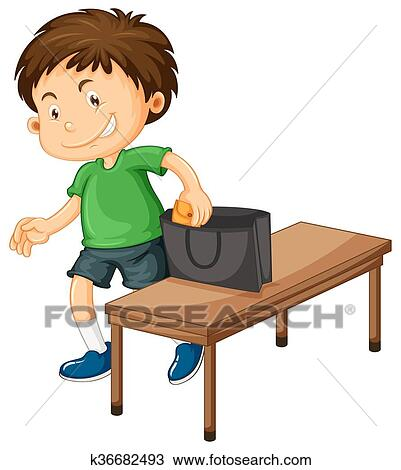 clipart of boy stealing things from purse k36682493 search clip rh fotosearch com stealing clipart Shoplifting Clip Art