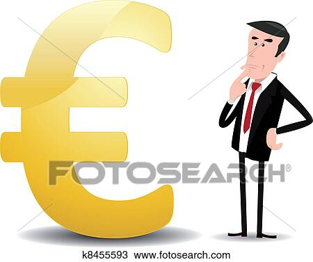 Clipart Of Which Future For Euro Currency K8455593 Search Clip