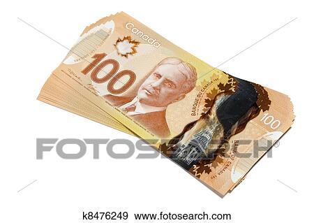 Canadian Dollar Stock Photograph